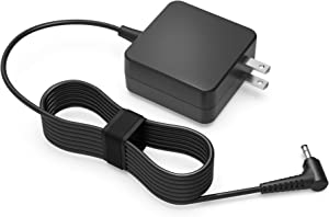 7.5Ft AC Charger Fit for Lenovo IdeaPad 510 ADLX65CCGU2A ADLX65CDGU2A ADLX65CLGU2A ADLX65CCGA2A PA-1650-20LL ADLX65CLGC2A ADLX65CDGA2A 510-14ISK 510-15ISK 510-15IKB Laptop Power Supply Adapter Cord