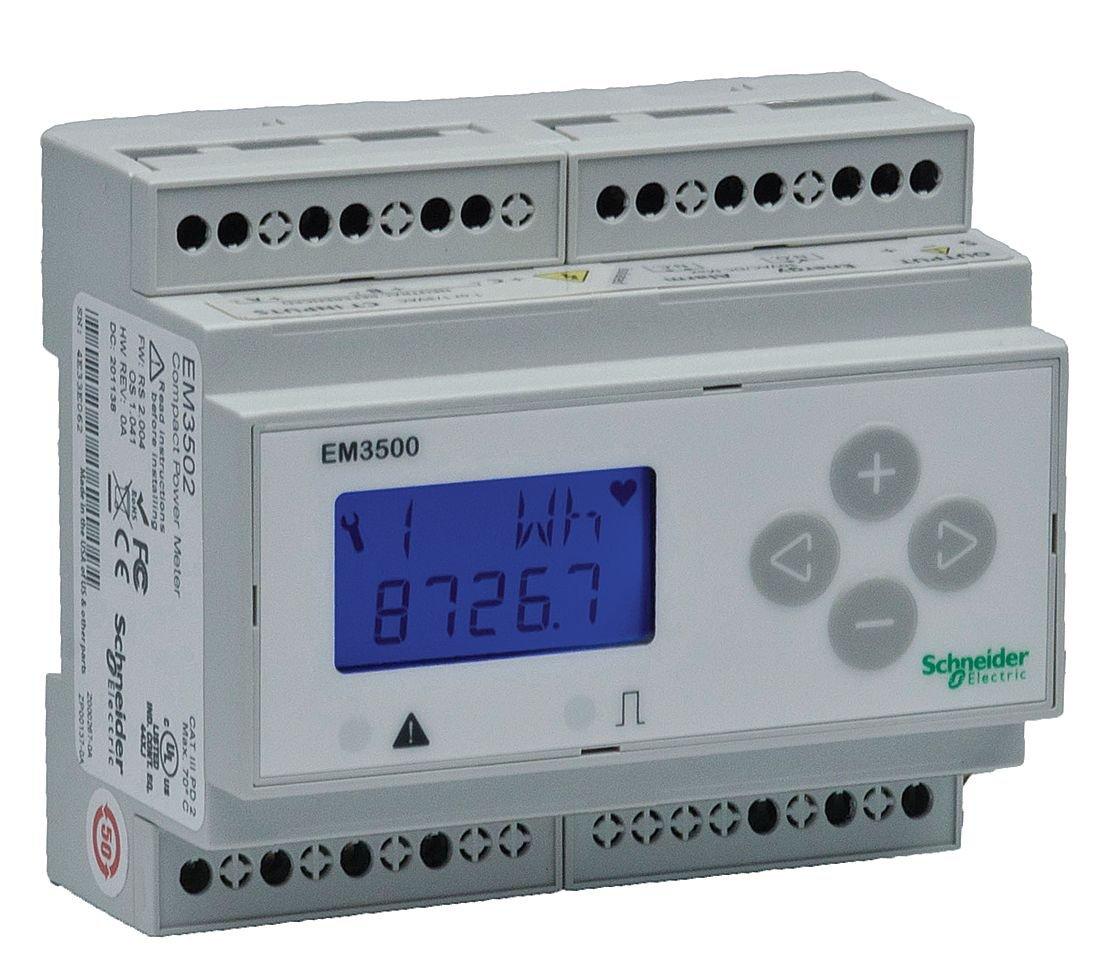 Telemecanique//Schneider Electric 90//600VAC//DC Input Voltage Accuracy: 0.50/% 5 Amps Power Meter METSEEM3555 3 Phase