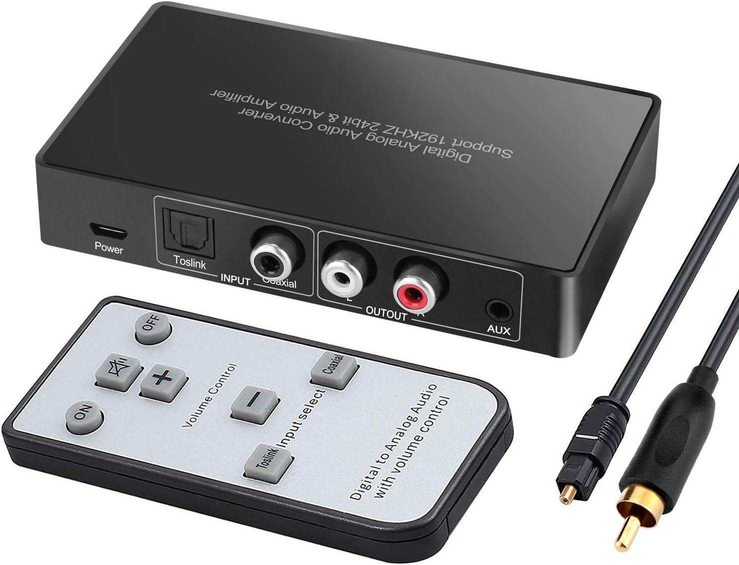El convertidor Digital a analógico, el transceptor de Audio ...