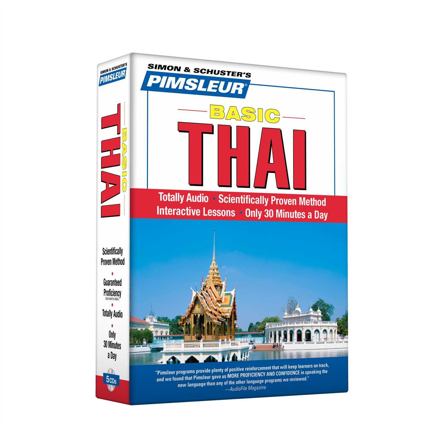 Pimsleur Thai Basic Course - Level 1 Lessons 1-10 CD: Learn to Speak and Understand Thai with Pimsleur Language Programs by Not Available (NA)