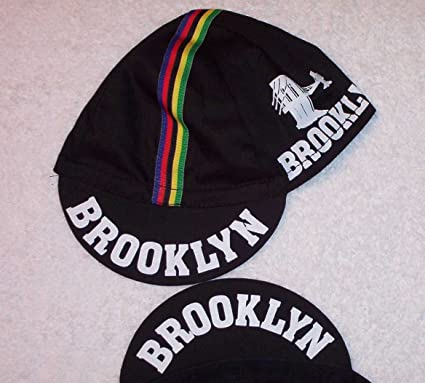 d38a3fe8fd06f Amazon.com   Pace Sportswear Brooklyn Classic Cycling Cap (Black ...