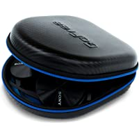 GoFree Headphone Case - For Over The Ear Head Phones (Size: Medium / Carbon Fiber Black)