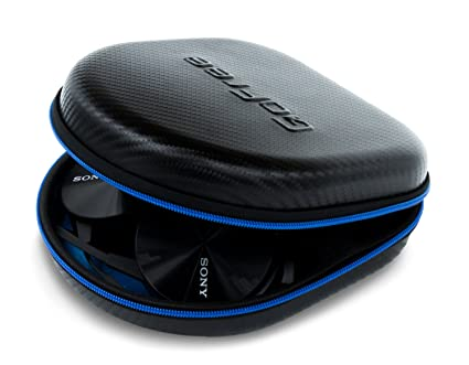 Buy GoFree Headphone Case - For Over The Ear Head Phones (Size  Medium    Carbon Fiber Black) Online at Low Prices in India - Amazon.in 0eb09f9f07