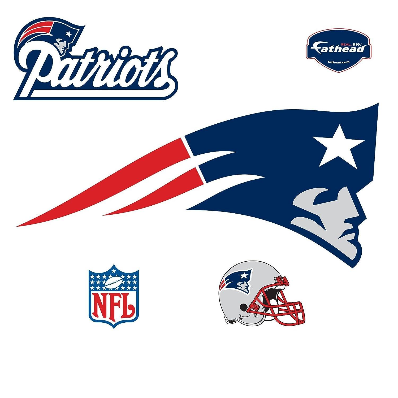 Nfl Fatheads Wall Stickers Amazon Com Fathead New England Patriots Logo Wall  Decal Sports