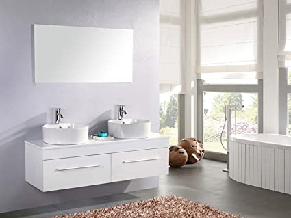 Mobili per bagno amazon good myfurniture photonic armadietto a