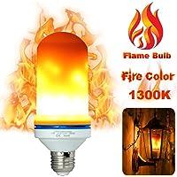 LUXON LED Flame Light Bulbs Fire Flicker Effect Lamp