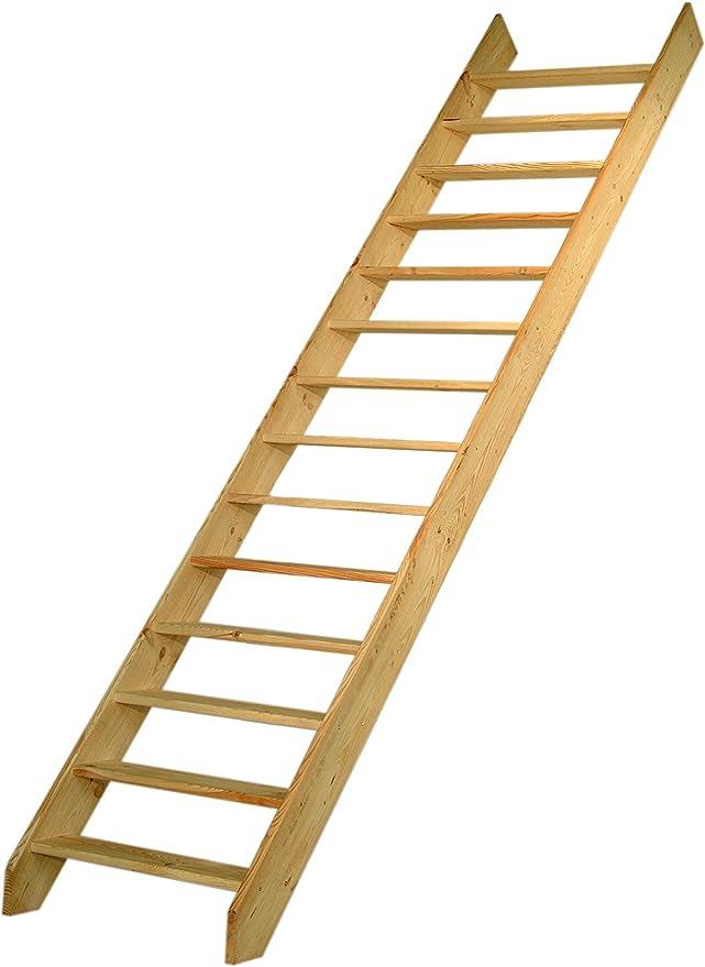 Escalo H965P - Escalera de molinero (400 x 19,3 x 14 cm): Amazon.es: Bricolaje y herramientas