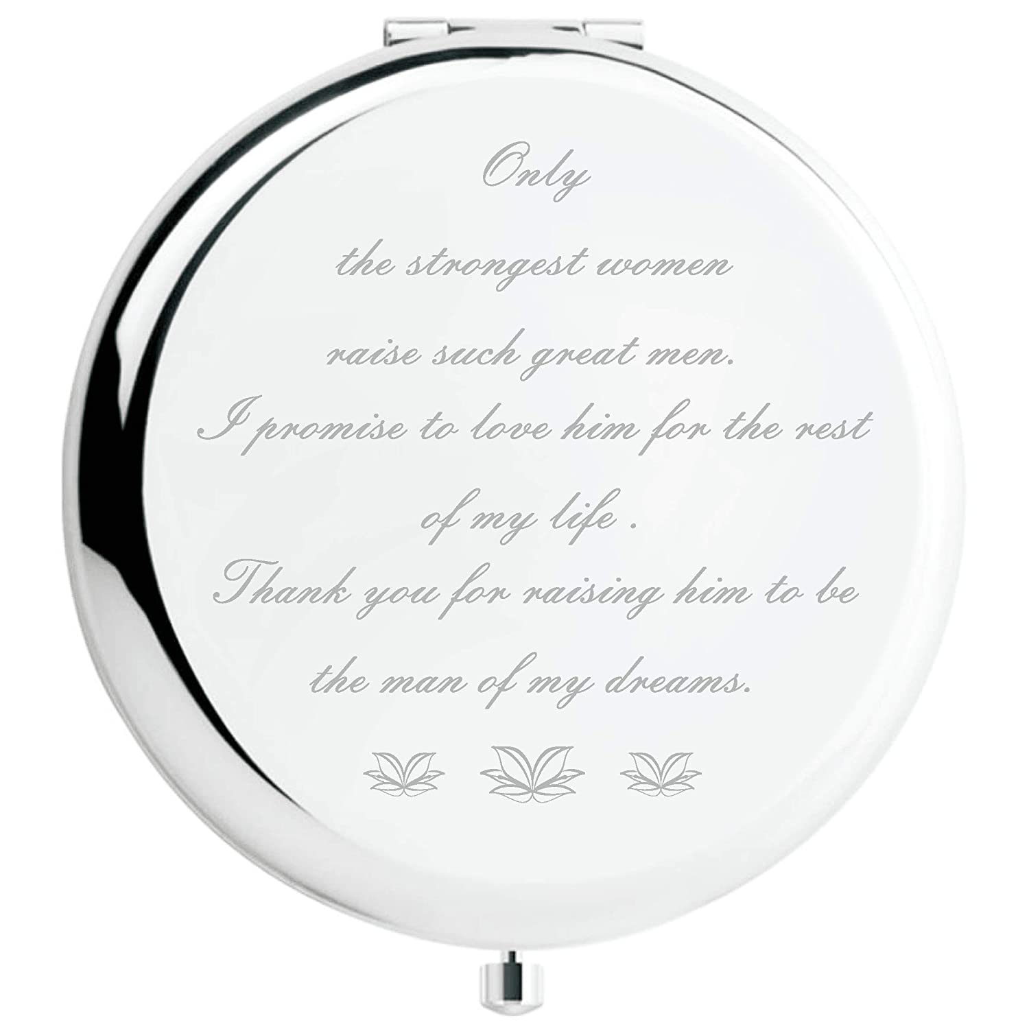 Mother of The Groom Gifts from Bride, Wedding Keepsake Gift,Great Gifts Present for Mom Mommy Mother Silver, Mother of The Groom