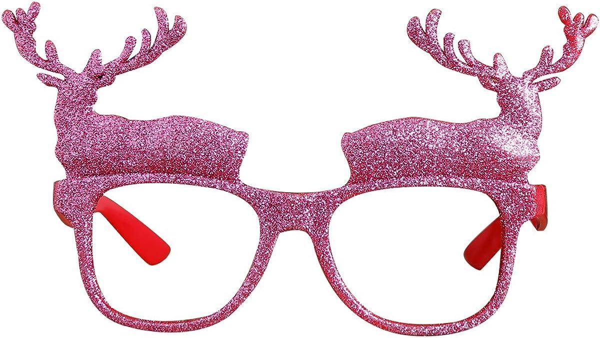 Novelty Christmas Sunglasses Xmas Fun Fancy Dress Festive Glasses Photo Props
