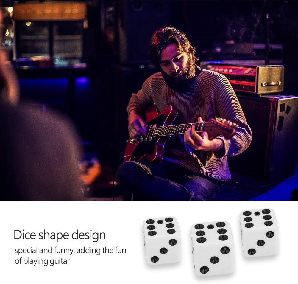 3pcs Guitar Speed Knobs Volume Tone Control Knob Button for Electric Guitar Accessory Guitar Knobs