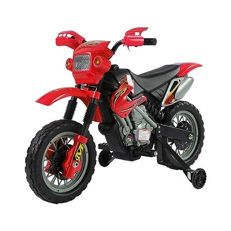 HOMCOM - Patinete eléctrico para Motocicleta, 6 V, Color ...