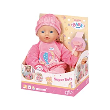 Zapf 822524 My Little Baby Born Supersoft günstig kaufen Babypuppen