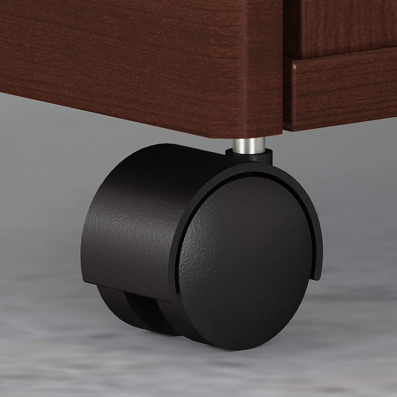 Bush Business Furniture Studio C 3 Drawer Mobile File Cabinet Natural Maple