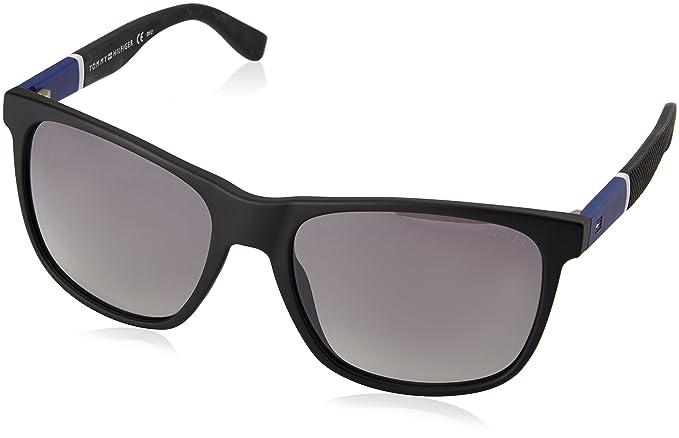 Unisex-Adults TH 1445/S 8H Sunglasses, Hvna Orange, 57 Tommy Hilfiger