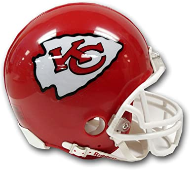 Amazon Com Riddell Kansas City Chiefs Replica Mini Helmet W Z2b Face Mask Clothing