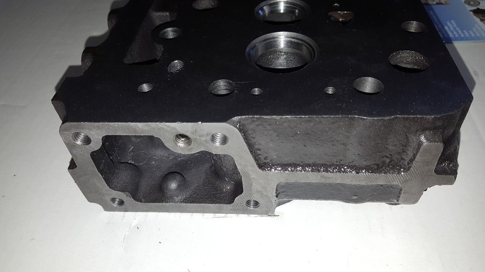 Bobcat B300 Diesel Bare Cylinder Head Part # 6655153 by WHDHD (Image #5)