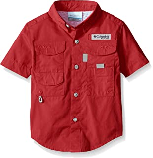d7167e24 Amazon.com: BullRed Toddlers PFG Vented Fishing Shirt Button Up (8 ...