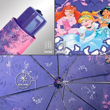 Perletti 50426/Girl Mini 50//8/Man 3/Sect Imprim/é Princesses Coupe-Vent Parapluie