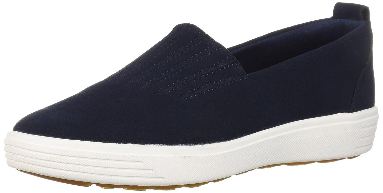 bluee Skechers Womens Comfort Air - Europa - Gored Slip-on Sneaker, Skech-air Midsole & Classic Fit Sneaker
