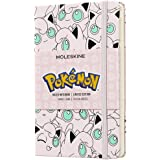 Moleskine Limited Edition Notebook Pokemon Jigglypuff, Pocket, Ruled, Pink, Hard Cover (3.5 x 5.5)