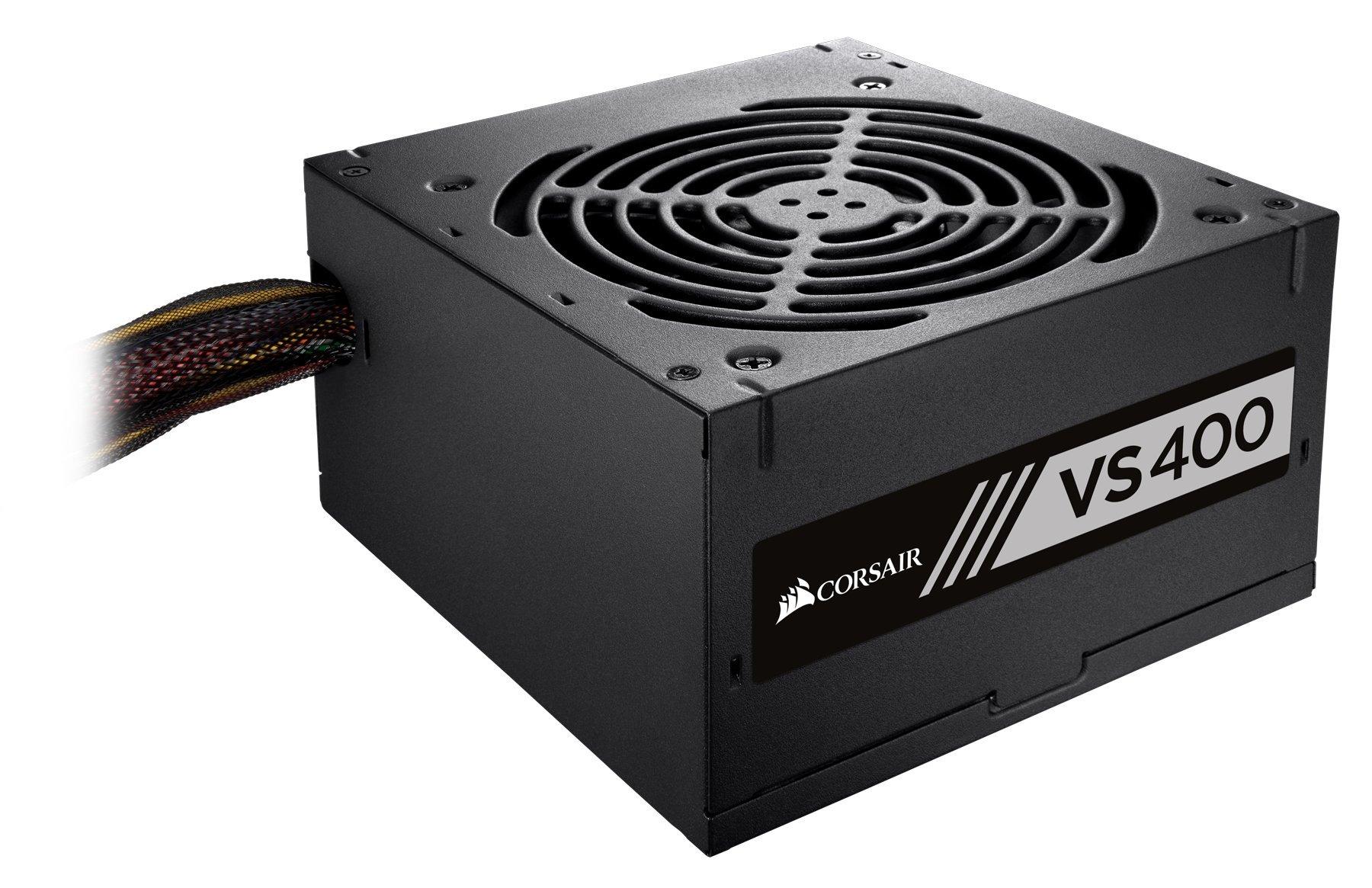 CORSAIR VS Series, VS400, 400 Watt, Active PFC Power Supply, 80+ White Certified