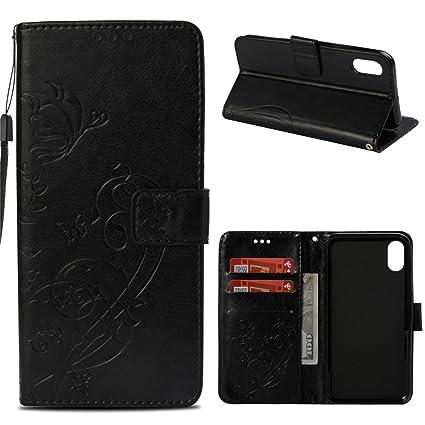 super popular 8d9f2 48570 Amazon.com: Luckyandery iPhone 9 Plus wallet case,Phone Case iPhone ...