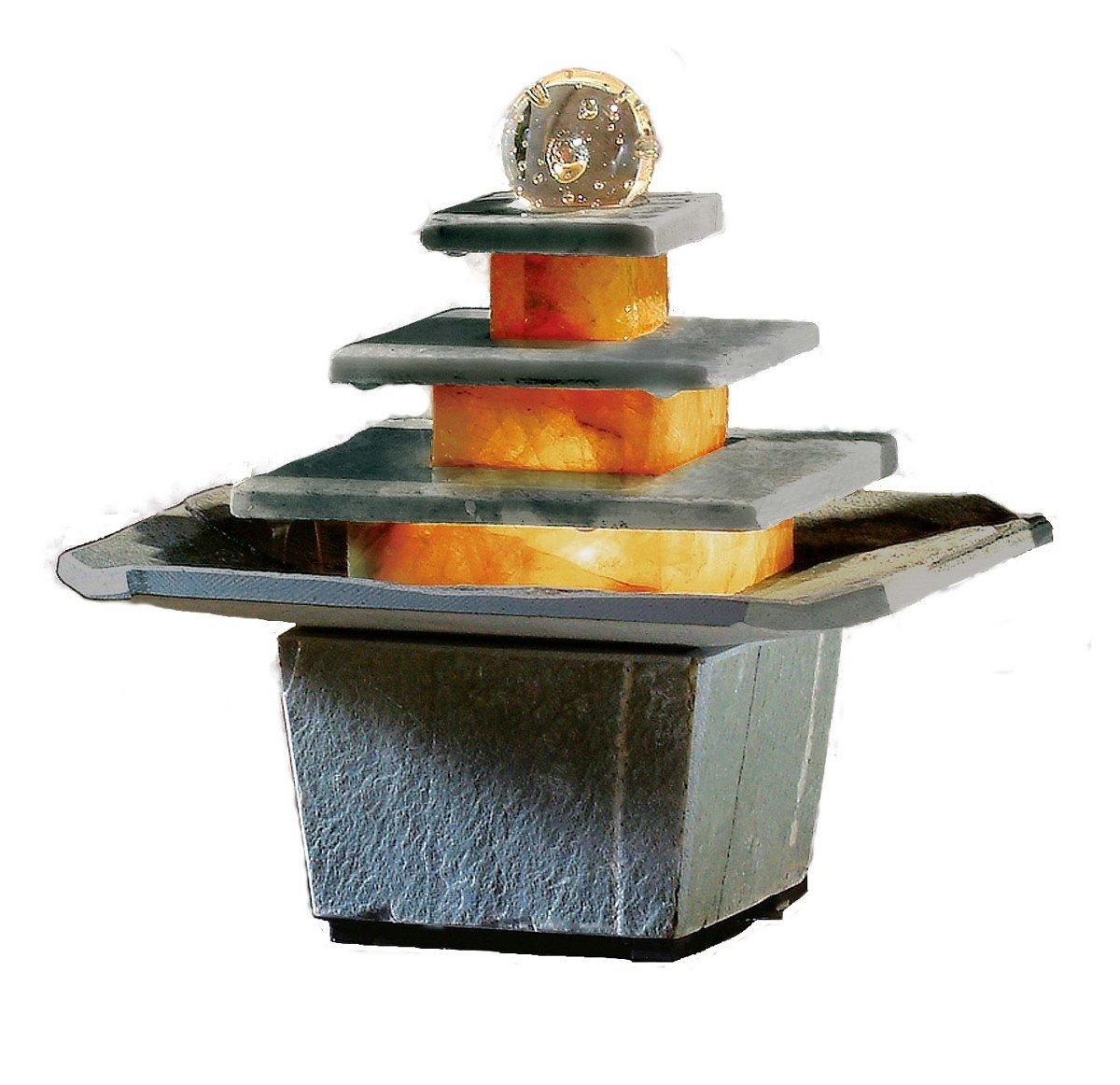 Schieferbrunnen Mandala von seliger®