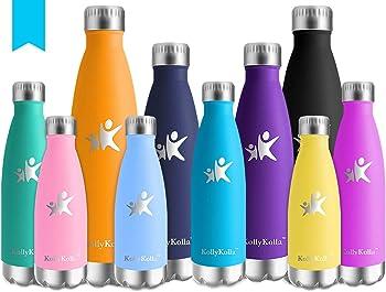 KollyKolla Botella de Agua Acero Inoxidable