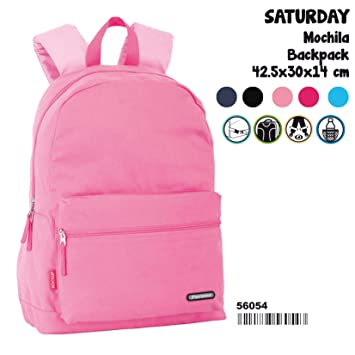 Amazon.com : Perona Saturday Coral Adaptable Backpack 42cm : Office Products
