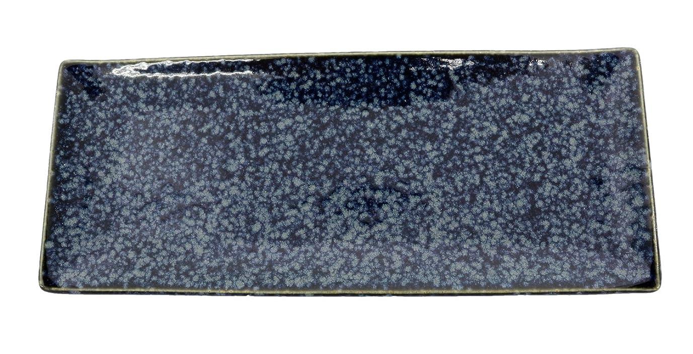 画像前任者スプーン西海陶器 染付幾何紋