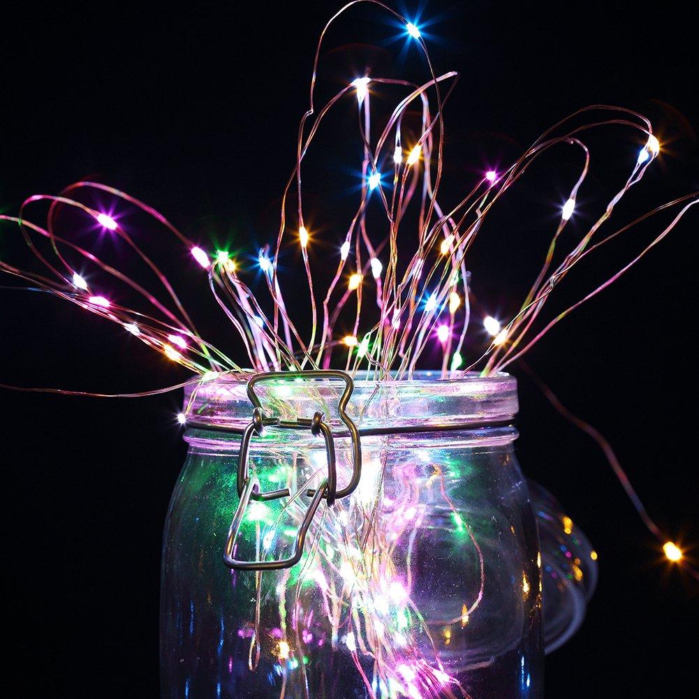 Copper String Lights Solar : GDEALER Solar String Lights 100LED 33ft Copper Wire Lights Waterproof Starry... eBay