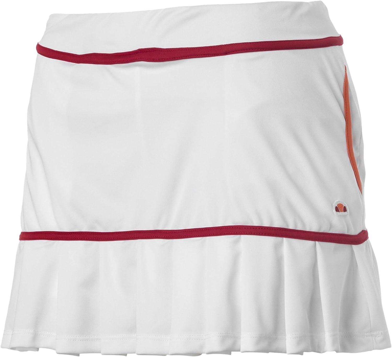 Ellesse Tennis Falda, Mujer, Blanco, M: Amazon.es: Zapatos y ...