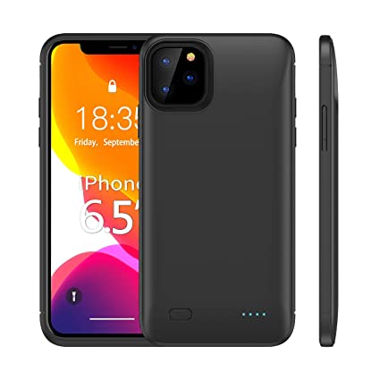 Amazon.com: HUOTO - Funda con batería para iPhone 11 Pro Max ...