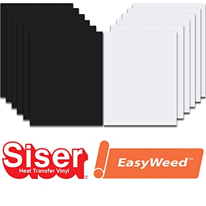 Amazon Siser Easyweed Heat Transfer Vinyl Htv For T Shirts 12 X