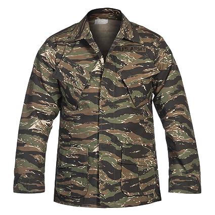 USA chaqueta de campo, Vietnam Acanalado - Tiger Raya ...