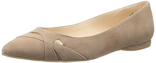 Nine West Women's Seeya Suede Pointed Toe Flat