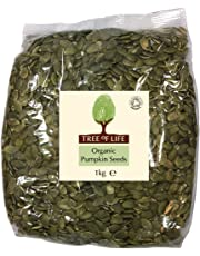 Tree of Life Organic Pumpkin Seeds 1kg (Pack of 1)