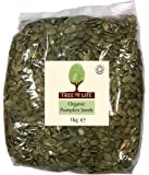 Tree of Life Organic Pumpkin Seeds 1kg (Pack of 1)