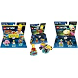 Lego Dimensions The Simpsons Themed Bundle - Simpsons Level Pack 71202, Bart Simpson Fun Pack 71211, Krusty Fun Pack 71227