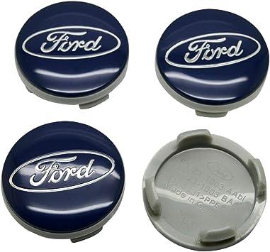 X AUTOHAUX 50mm Silver Tone Auto Car Wheel Center Hub Cap Sticker Emblem Badge Decal 4pcs