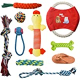 AIRGOOD Dog Toys Set for Puppy (5/10 Pack)