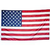 Flaggenking Bandera de King, Estados Unidos–Bandera/Bandera–Resistente a la Intemperie, Color Blanco, 150x 90x 1cm, 16894