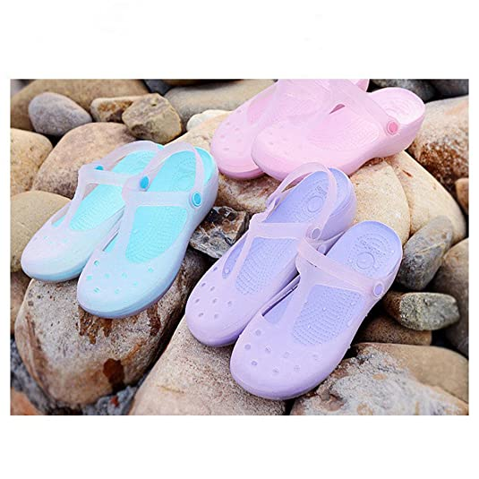 Tinksky Strand Clogs schuhe EVA Casual Sandalen  einfache Loch Schuhe Für  Frauen -Größe 38 (rosa)  Amazon.de  Schuhe   Handtaschen f8af5a2033