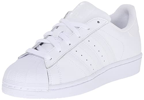 new concept d6d79 96634 adidas Originals Superstar Sneakers Unisex per Bambini, Bianco  (White White White)