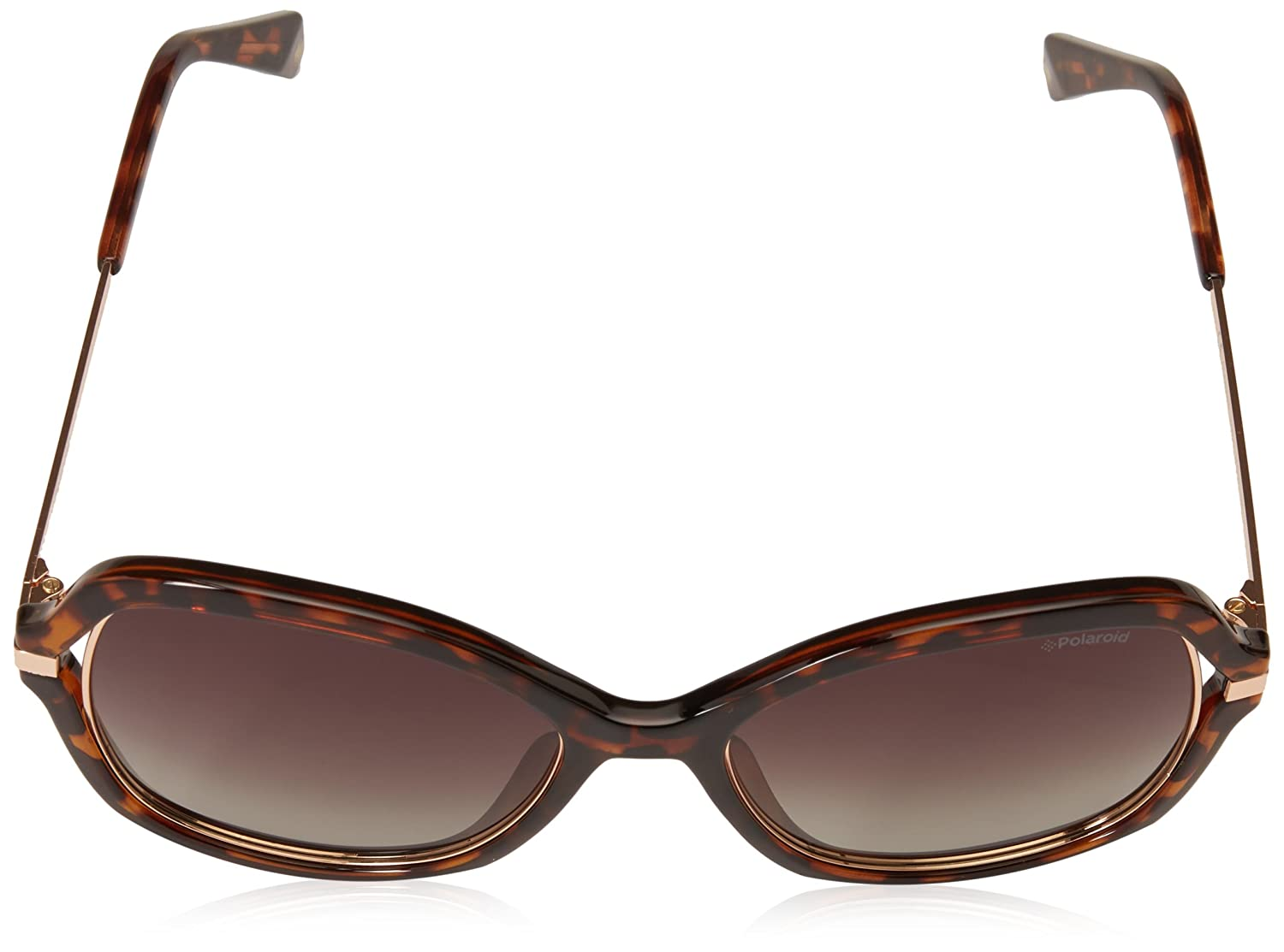 9c900092376 Polaroid PLD4068 S 086 Havana PLD4068 S Butterfly Sunglasses Polarised Lens  Cat  Amazon.co.uk  Clothing