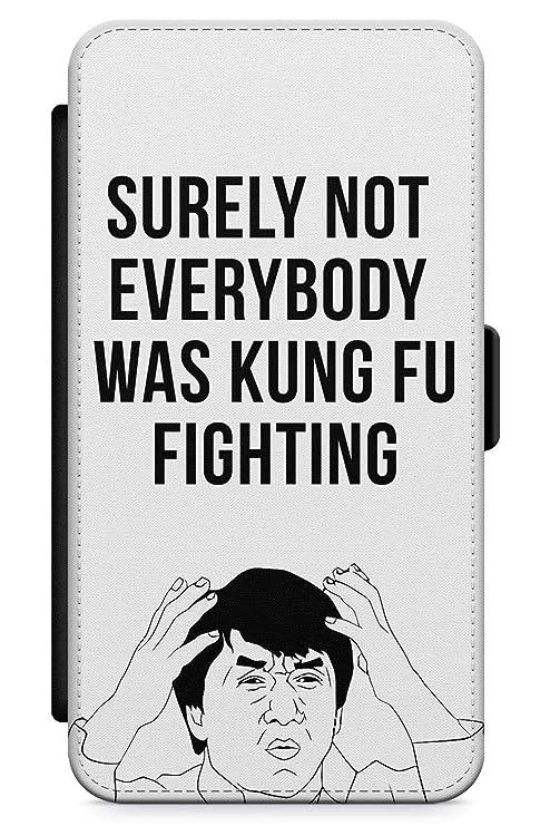iPhone 7 Plus / 8 Plus Pelea De Kung Fu Funda de Teléfono de Goma Cover