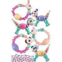 MAGIC PETZ AUSTRALIA 6 Pack Twist Pet Bracelets, Magic Pets Bracelet, Animal Pet Bracelet Magic Unicorns, Puppies Twist to Cute Toy for Girls. Unicorn, Elephant, Puppy, Kitty, Fuzzy, Panda & Twist