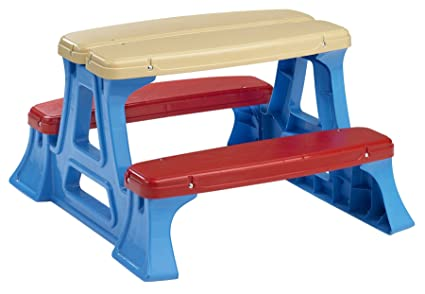 Amazon american plastic toy picnic table toys games american plastic toy picnic table watchthetrailerfo
