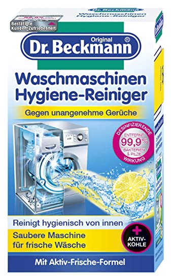 Dr Beckmann Waschmaschinen Hygiene Reiniger Maschinenreiniger Mit