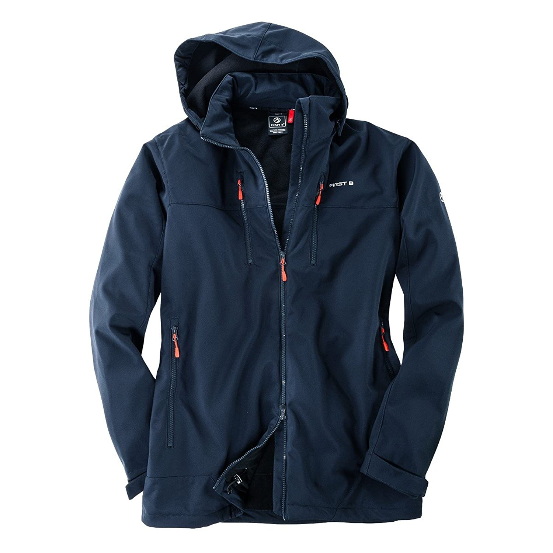 First B XXL Softshell Jacket Donovan dark blue